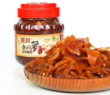 临高红土富硒萝卜干:肉质厚实,香味浓郁,脆嫩爽口
