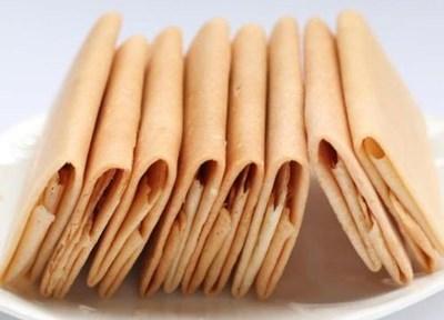 会文信封饼:味道香、不油腻,进口即碎,口感极好