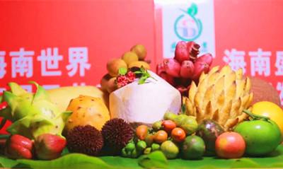 琼海名优水果亮相首届消博会,总销售额200多万元